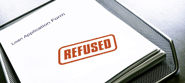 Mortgage loan refused bad credit